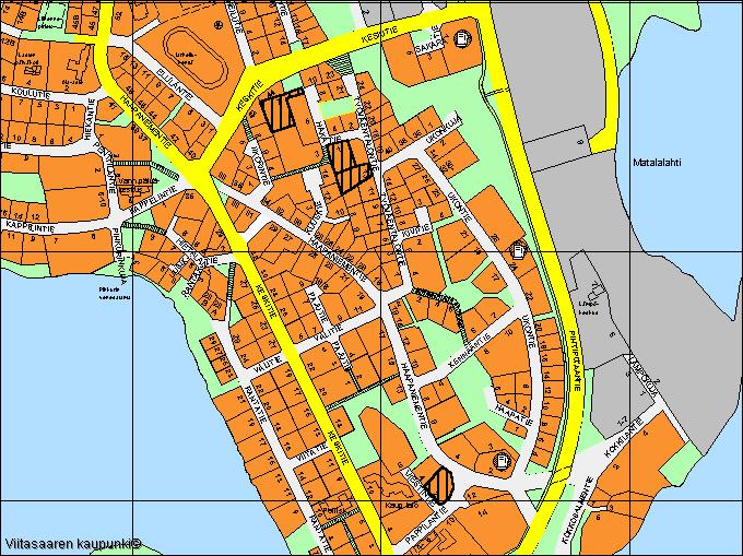 Viitasaari Keskusta kartta