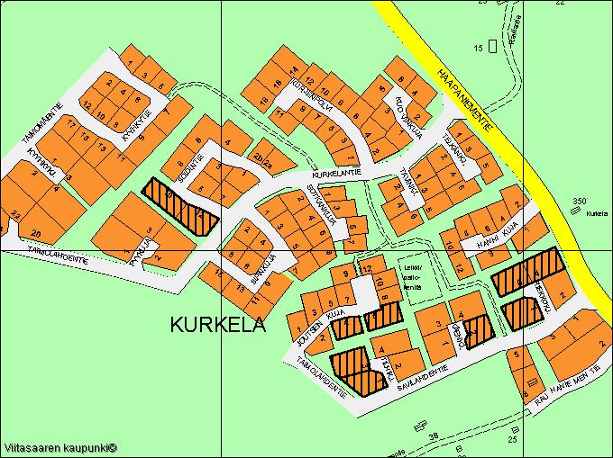 Viitasaari Kurkela kartta