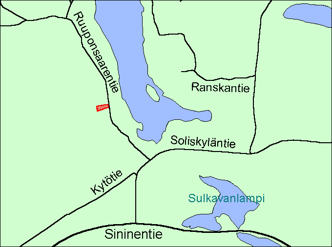 Viitasaari Soliskylä kartta