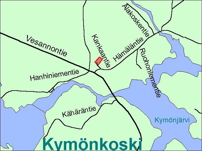 Viitasaari Kymönkoski kartta