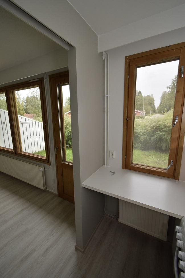 Kuva kiinteistön ikkunoista
